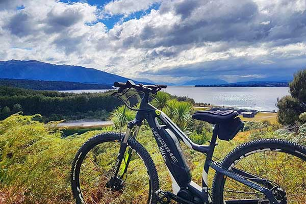 Private Fiordland Heli Biking Experience