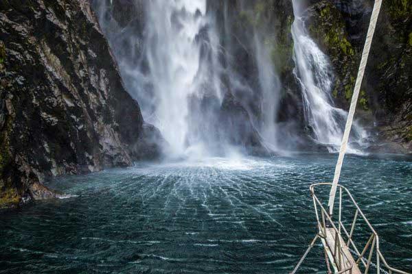 Private Milford Sound Heli/Cruise/Heli
