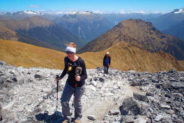 Private Kepler Track Guided Heli-Hike Experience